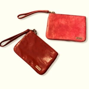Express wristlet purse bundle red and pink